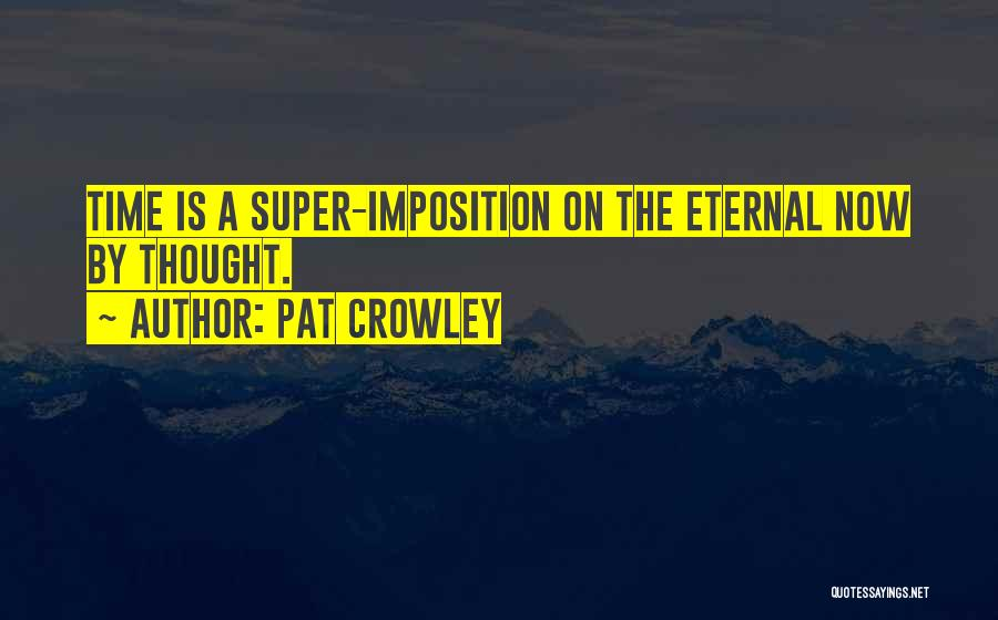Imposition Quotes By Pat Crowley