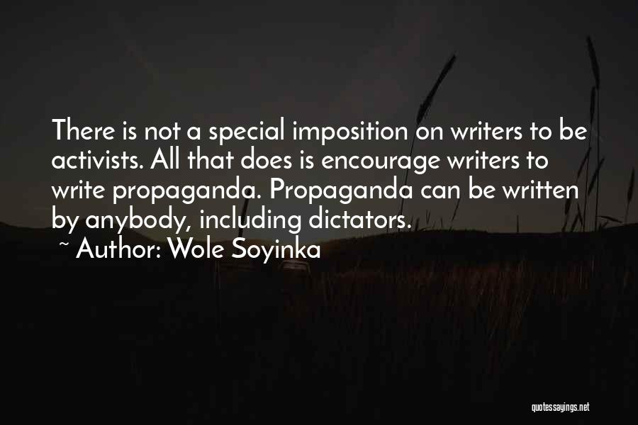 Imposition Quotes By Wole Soyinka