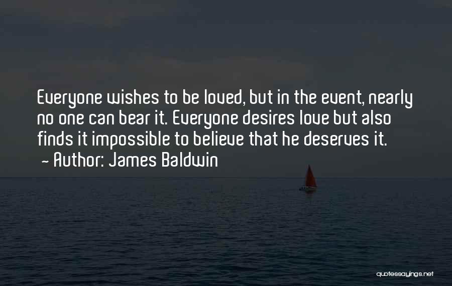 Impossible Desires Quotes By James Baldwin