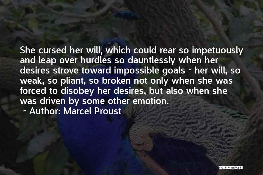 Impossible Goals Quotes By Marcel Proust