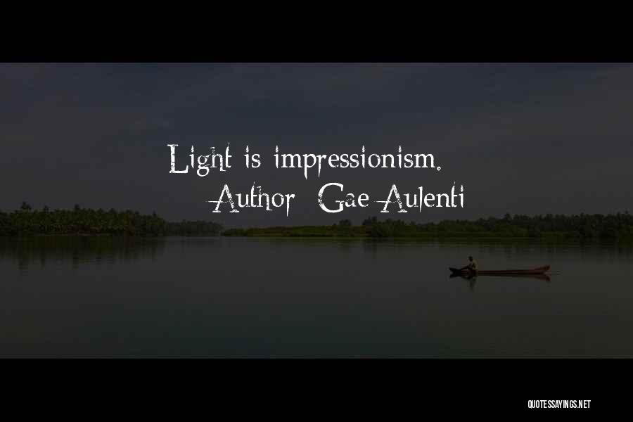 Impressionism Quotes By Gae Aulenti