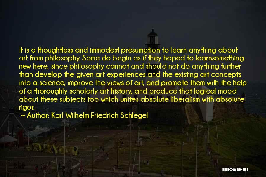 Improve Mood Quotes By Karl Wilhelm Friedrich Schlegel