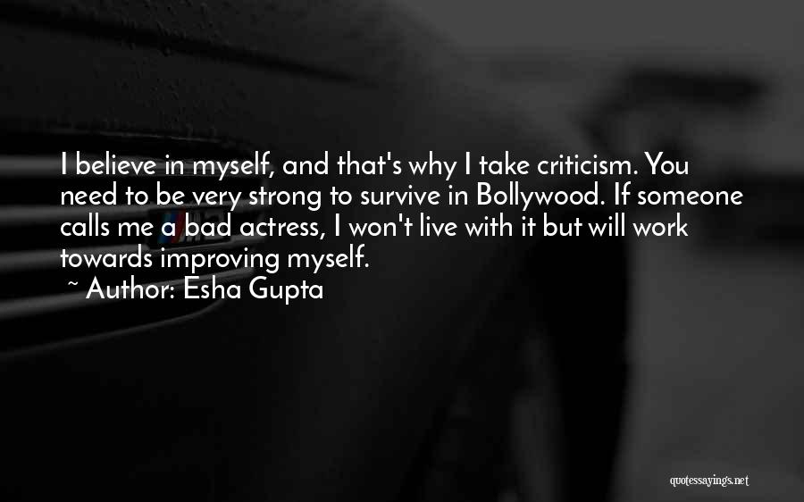 Improving Your Work Quotes By Esha Gupta