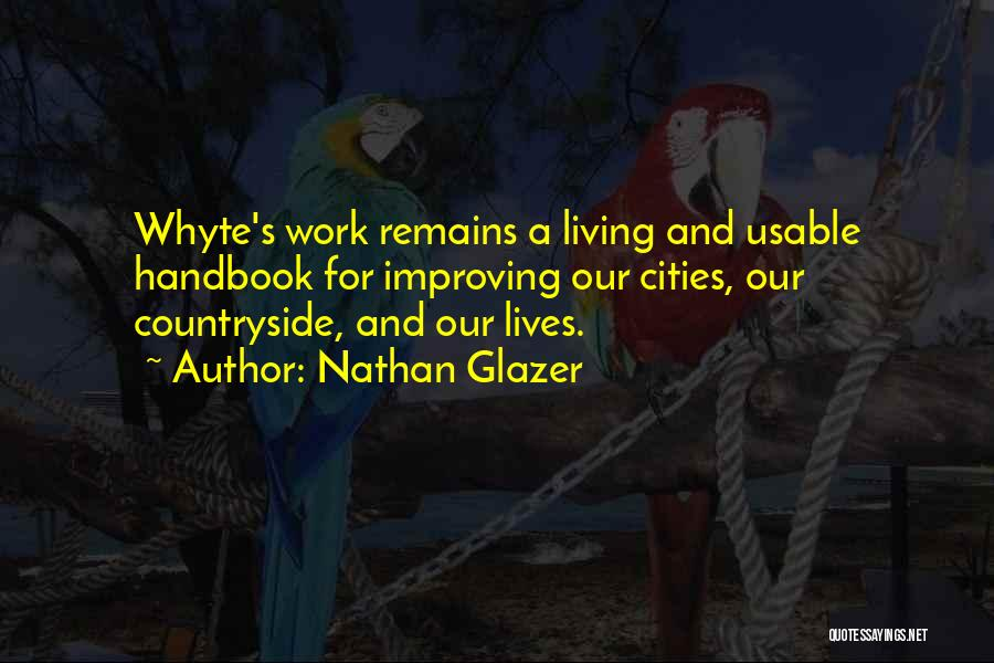 Improving Your Work Quotes By Nathan Glazer