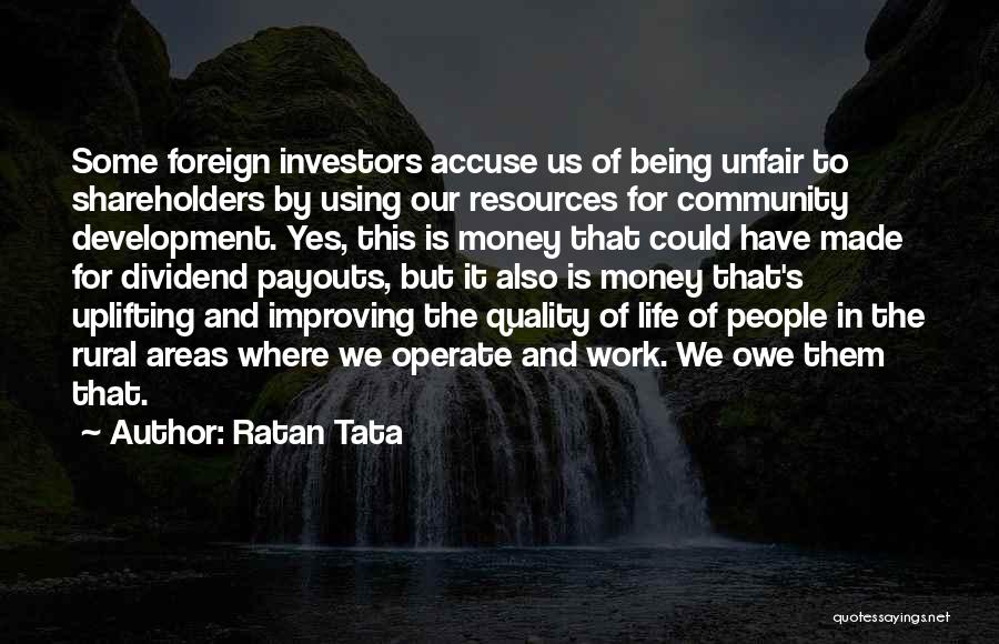 Improving Your Work Quotes By Ratan Tata