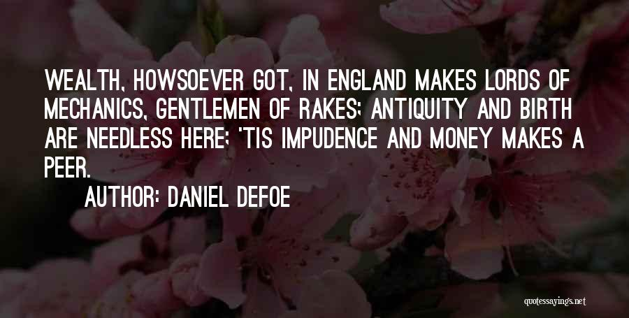 Impudence Quotes By Daniel Defoe