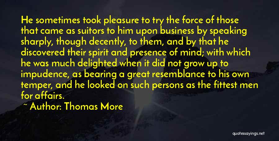 Impudence Quotes By Thomas More
