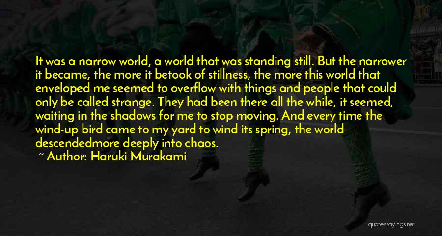 In A World Of Chaos Quotes By Haruki Murakami