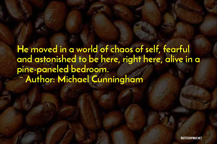 In A World Of Chaos Quotes By Michael Cunningham