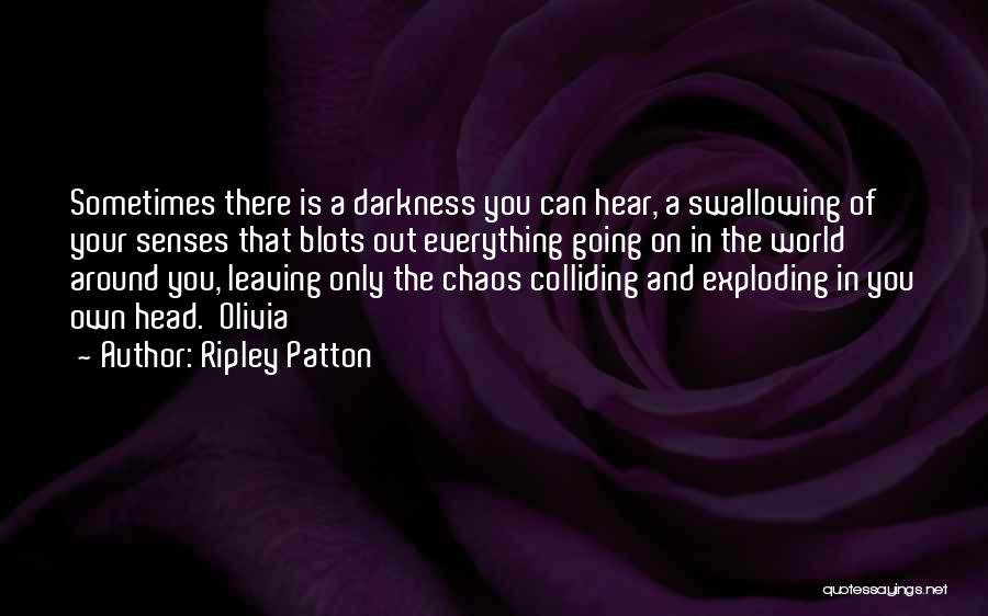 In A World Of Chaos Quotes By Ripley Patton