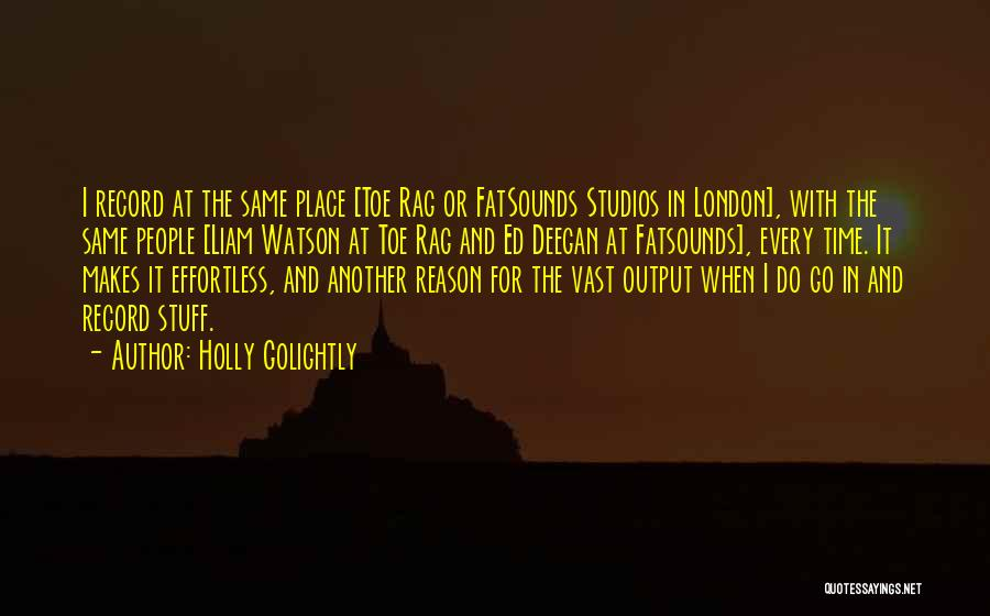 In Another Time And Place Quotes By Holly Golightly