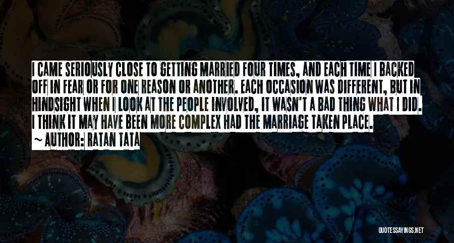 In Another Time And Place Quotes By Ratan Tata