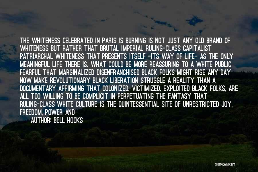 In Black And White Quotes By Bell Hooks