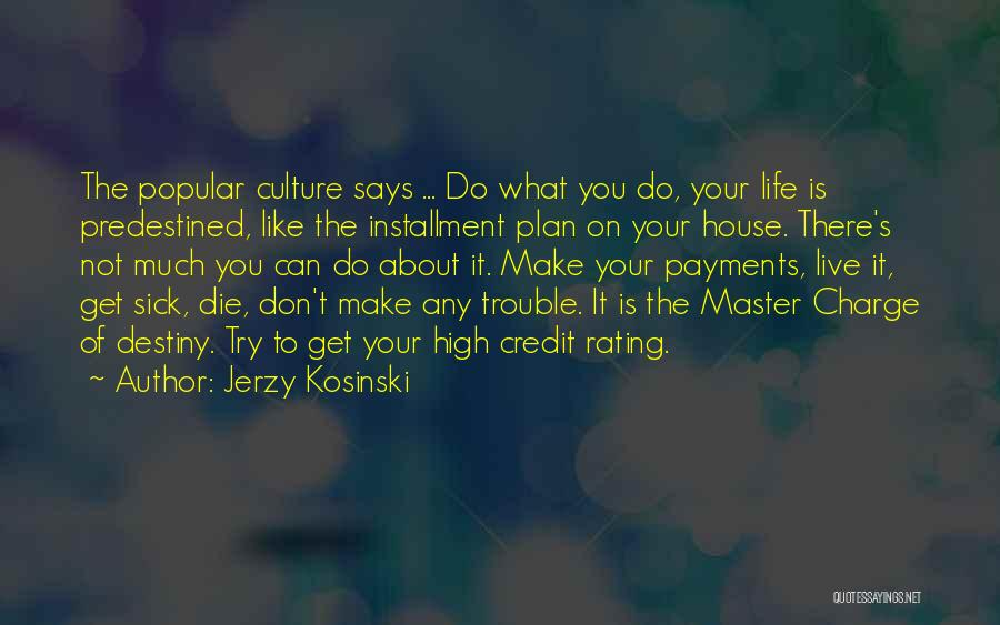 In Charge Of Own Destiny Quotes By Jerzy Kosinski