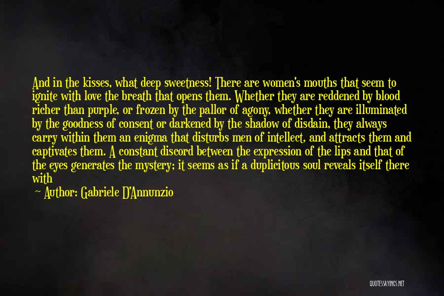 In Cold Blood Love Quotes By Gabriele D'Annunzio