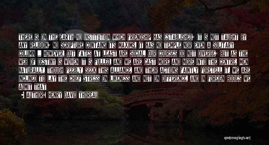 In Cold Blood Love Quotes By Henry David Thoreau