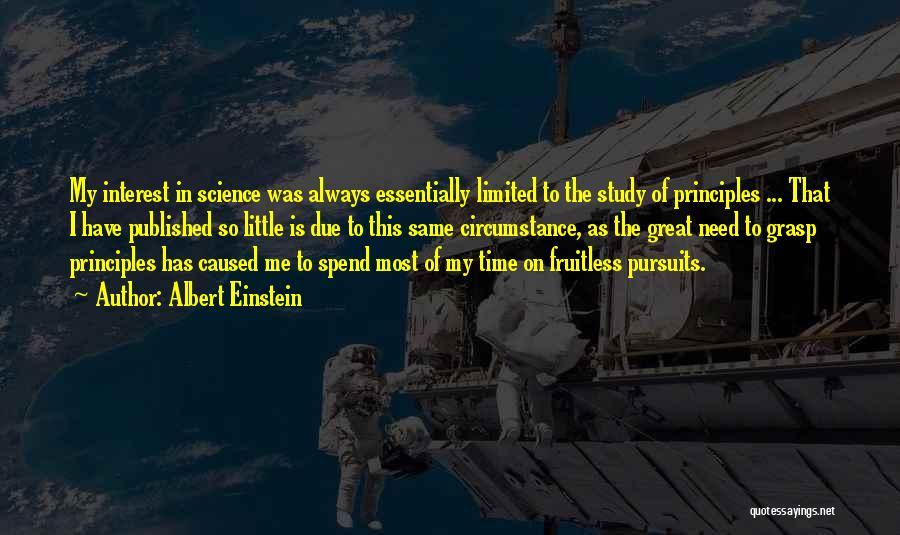 In Due Time Quotes By Albert Einstein