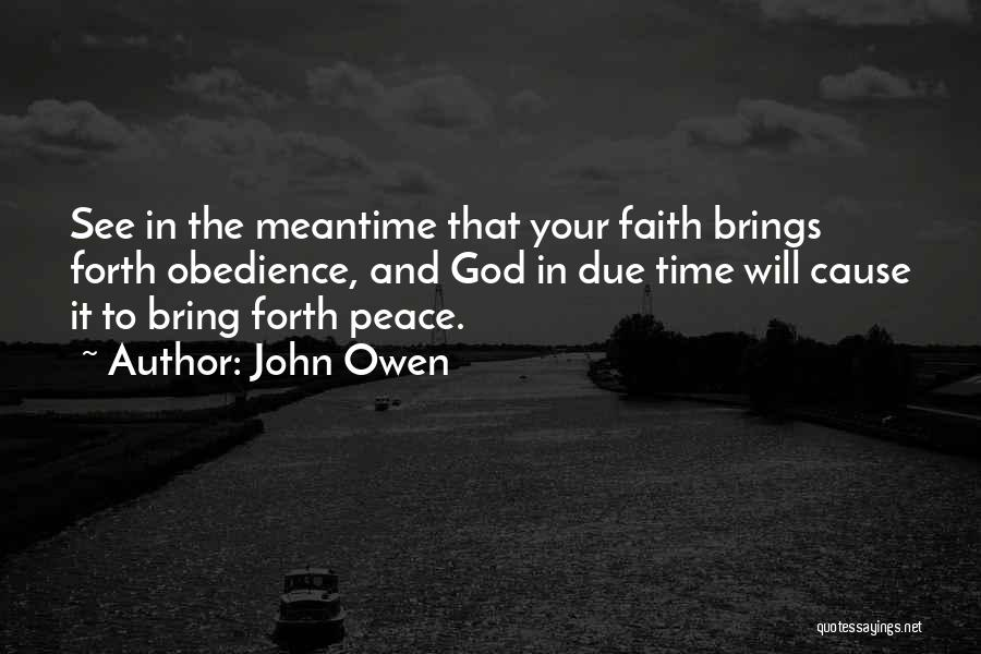 In Due Time Quotes By John Owen