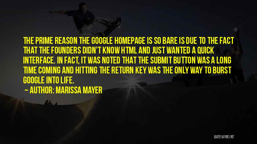 In Due Time Quotes By Marissa Mayer