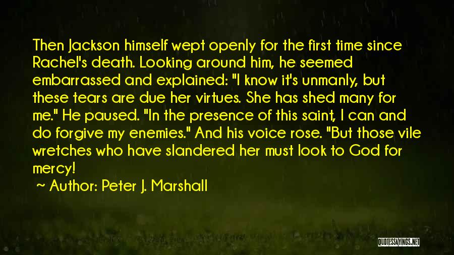In Due Time Quotes By Peter J. Marshall