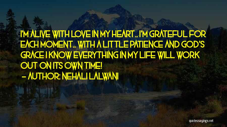 In God's Time Love Quotes By Nehali Lalwani