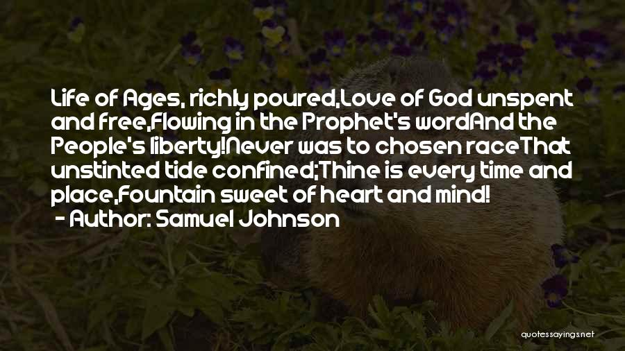 In God's Time Love Quotes By Samuel Johnson