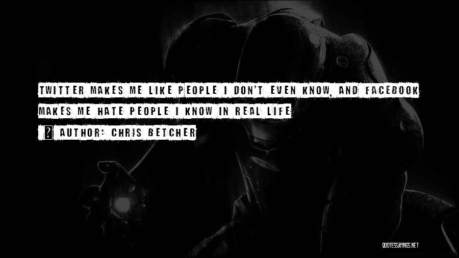 In Life Facebook Quotes By Chris Betcher