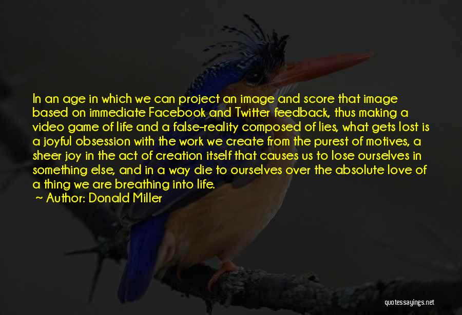 In Life Facebook Quotes By Donald Miller