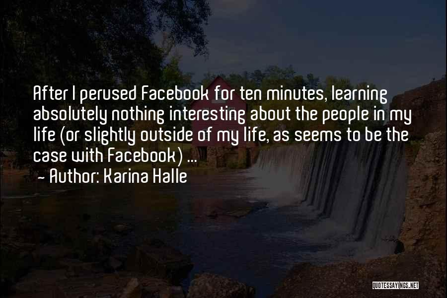 In Life Facebook Quotes By Karina Halle