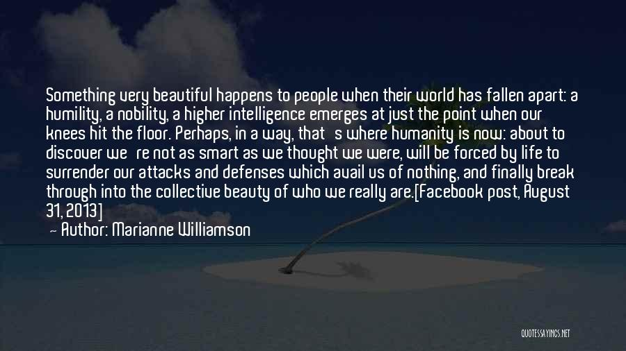 In Life Facebook Quotes By Marianne Williamson