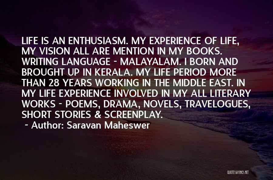 In Life Facebook Quotes By Saravan Maheswer