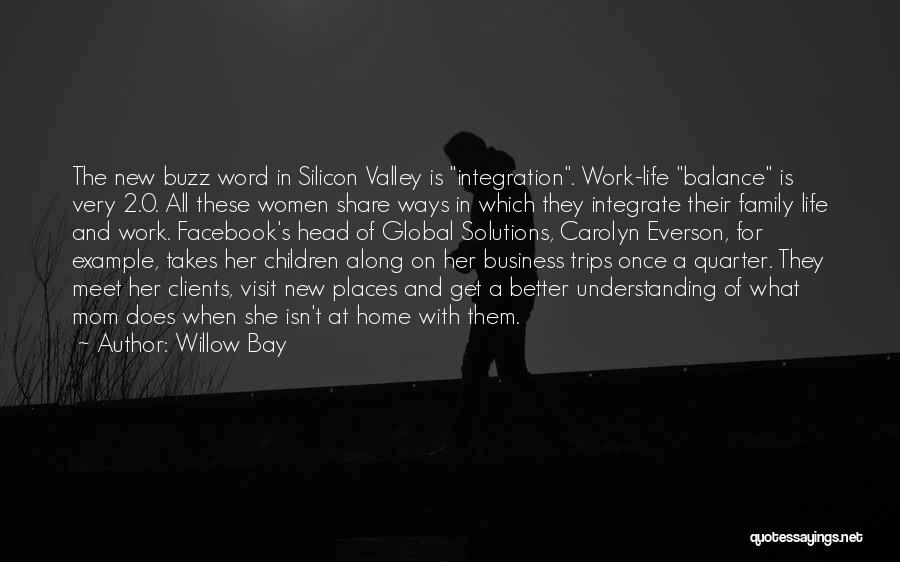 In Life Facebook Quotes By Willow Bay