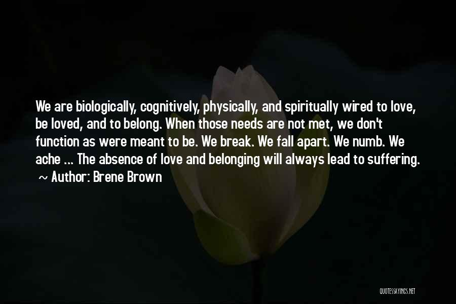 In Love With Someone You Just Met Quotes By Brene Brown