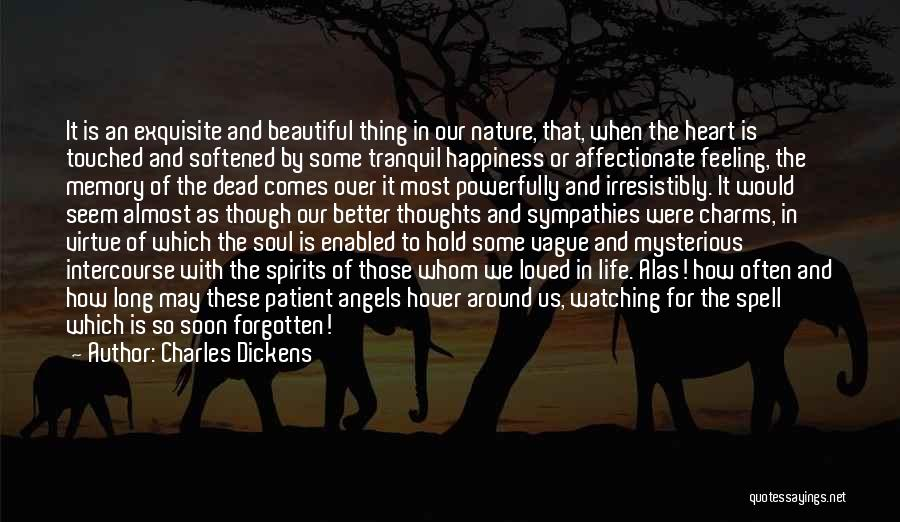 In Memory Of Our Loved Ones Quotes By Charles Dickens