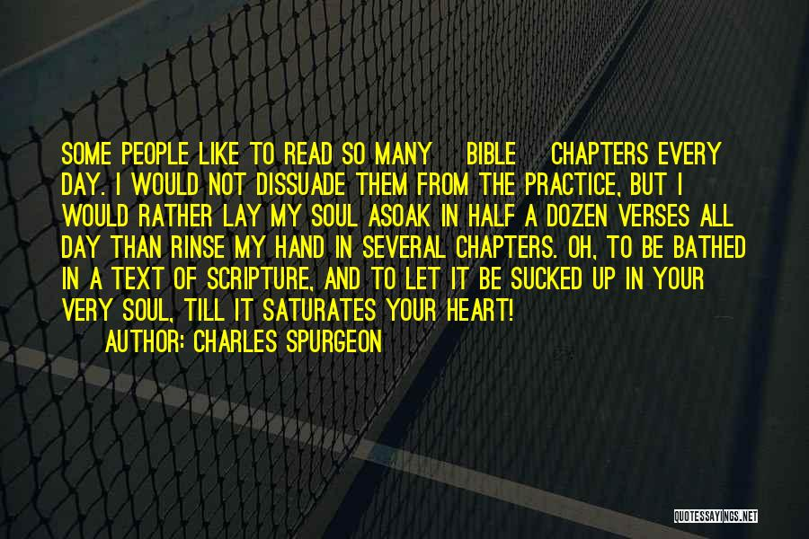 In My Hand Quotes By Charles Spurgeon