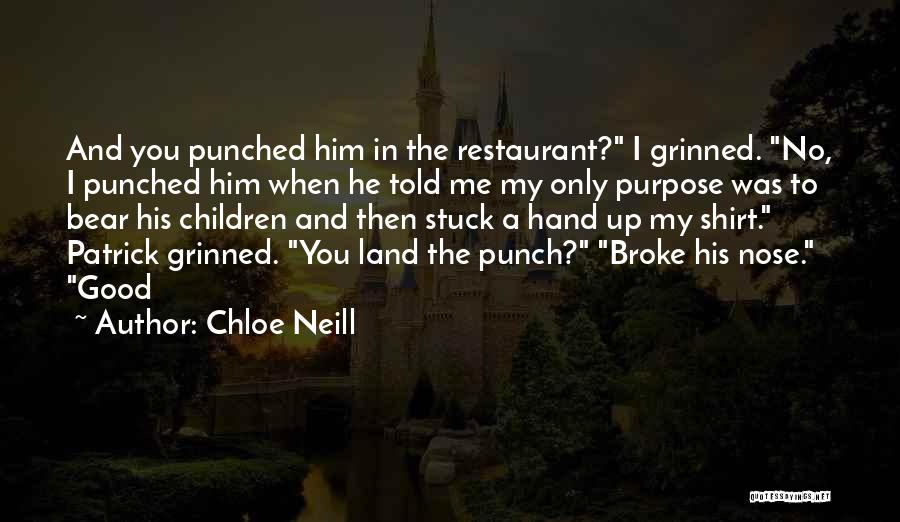 In My Hand Quotes By Chloe Neill