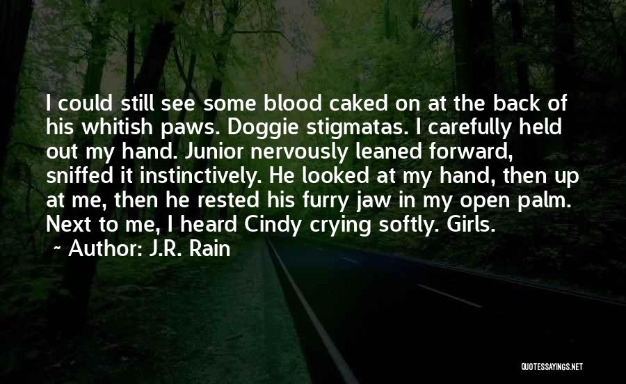 In My Hand Quotes By J.R. Rain