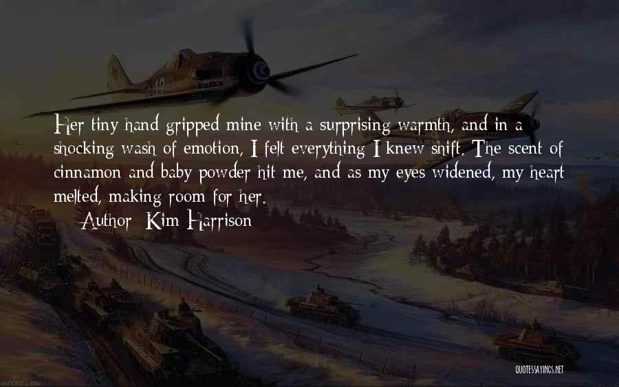 In My Hand Quotes By Kim Harrison