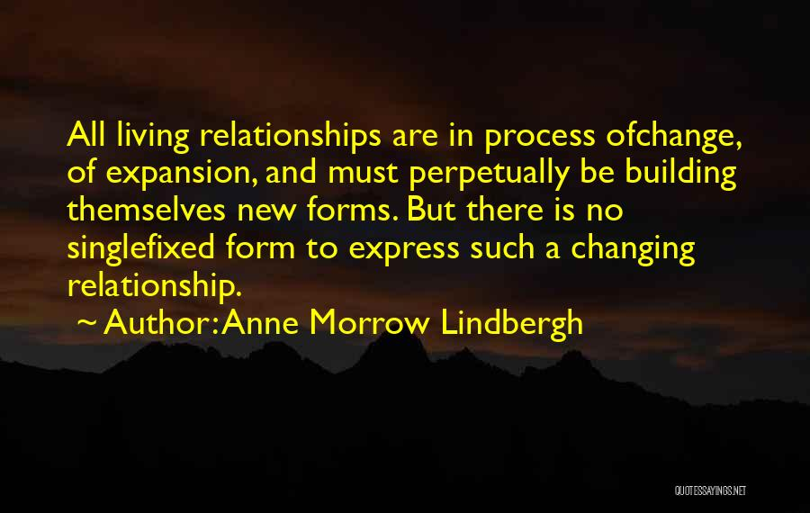 In New Relationship Quotes By Anne Morrow Lindbergh