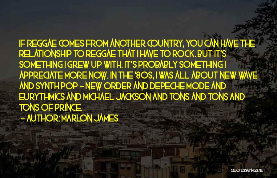 In New Relationship Quotes By Marlon James