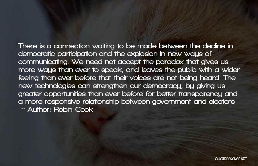 In New Relationship Quotes By Robin Cook