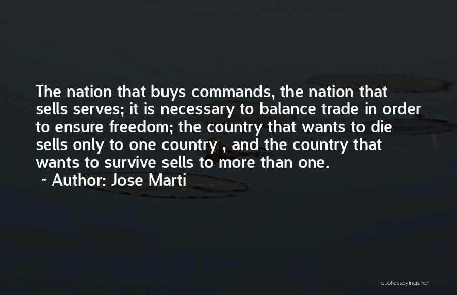 In Order To Survive Quotes By Jose Marti