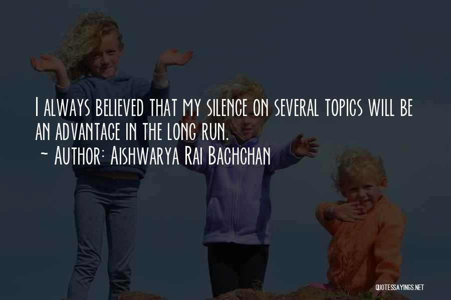 In Silence Quotes By Aishwarya Rai Bachchan