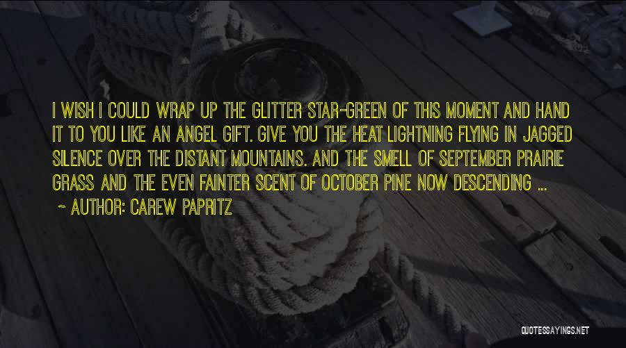 In Silence Quotes By Carew Papritz