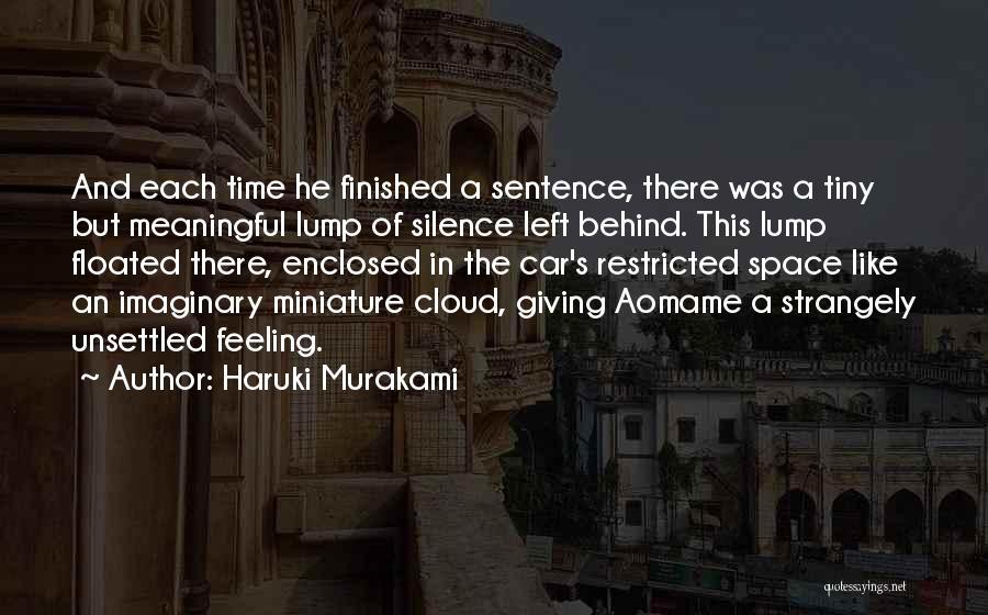 In Silence Quotes By Haruki Murakami