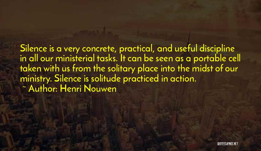 In Silence Quotes By Henri Nouwen