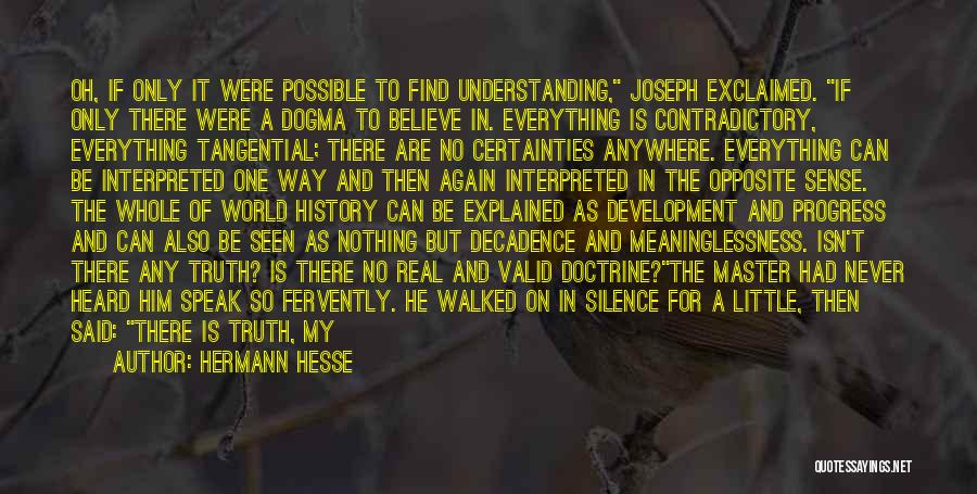 In Silence Quotes By Hermann Hesse