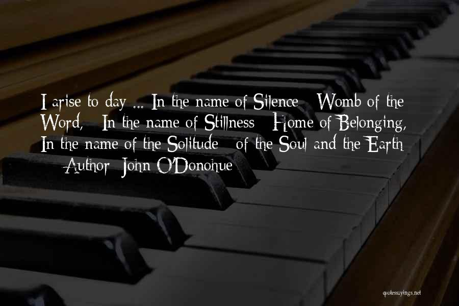 In Silence Quotes By John O'Donohue
