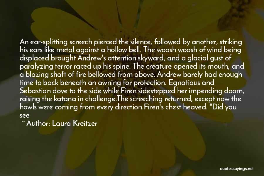 In Silence Quotes By Laura Kreitzer