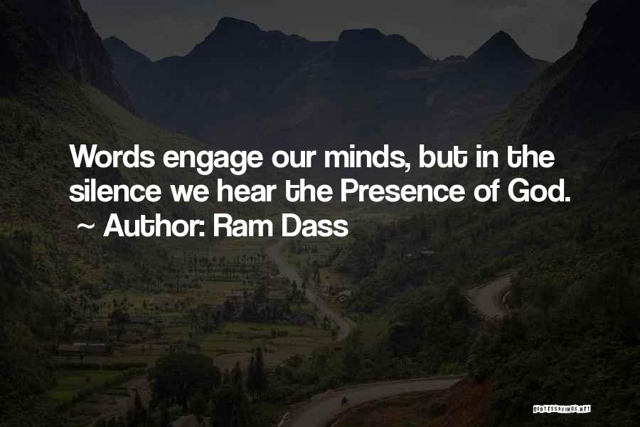 In Silence Quotes By Ram Dass